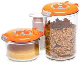 Контейнеры для вакуумных упаковщиков Status, набор VAC-RD-Round Orange