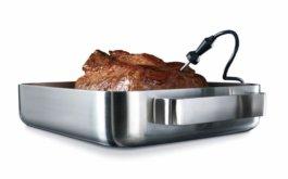 Теперь о готовности мяса может позаботится термощуп.