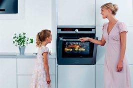 Отличная изоляция дверцы духовки