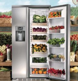 Идеальный выбор для гурманов, которые хотят иметь чуть больше места для хранения продуктов