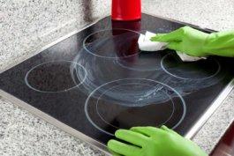 Легкая очистка стеклокерамики
