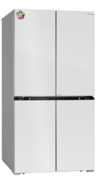 Холодильник Hiberg RFQ-550DX NFGW INVERTER