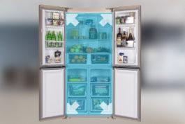 Холодильники SIDE-BY-SIDE и CROSS DOOR: красивое и вместительное решение для большой кухни