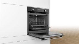 Телескопические системы духового шкафа Bosch HRG636XS7