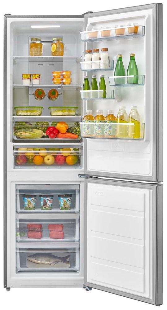 Двухкамерный холодильник Midea MRB 519 SFNX1
