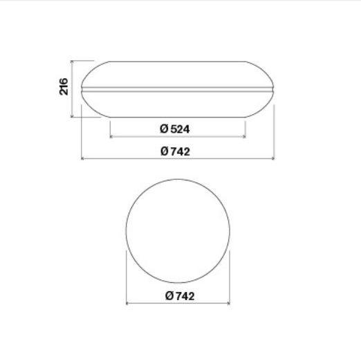 Вытяжка Falmec LOOP IS.74 Brushed Stainless Steel Арт. CLQN74.E0P7#ZZZI461F