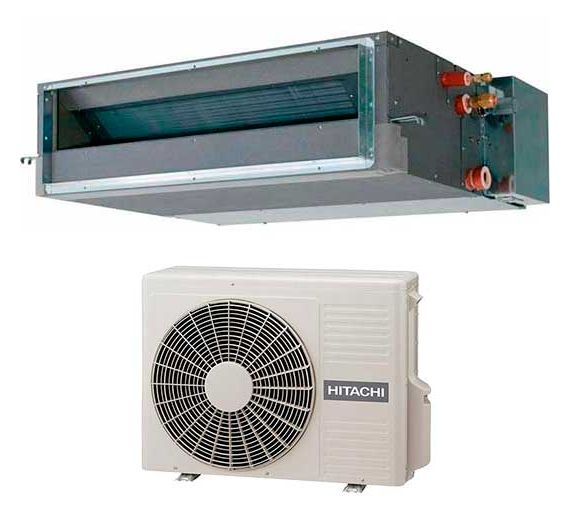Сплит-система канального типа Hitachi RAD-50PPA / RAC-50DPA