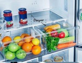 Регулирования влажности в ящике для овощей