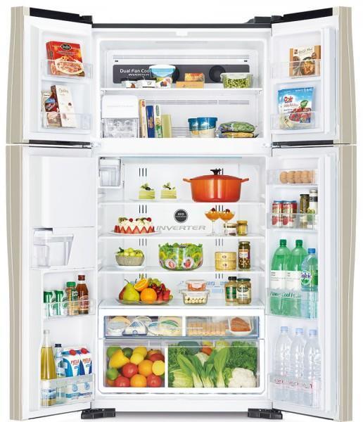 Холодильник HITACHI R-W722 PU1 GBW
